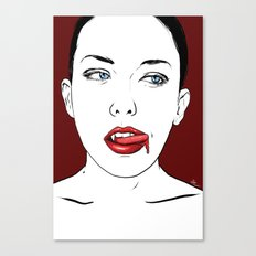 Vampire Lady #2 Canvas Print