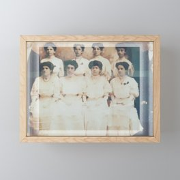 UPR RP  - First class graduation of teachers - 1907 Framed Mini Art Print