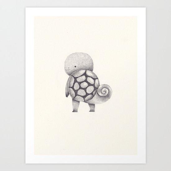 7 Art Print