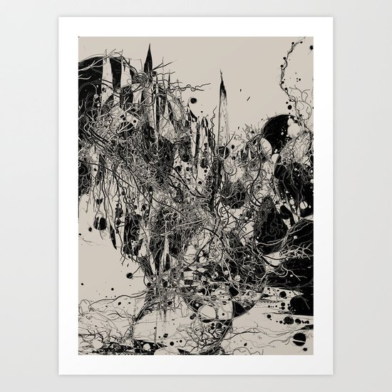 Coexistence Art Print