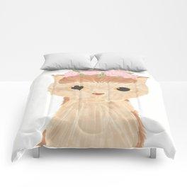 Flower Kitty Comforters