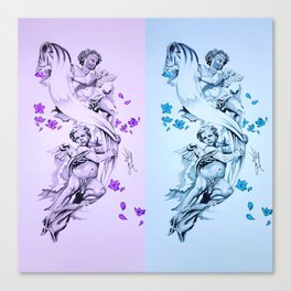 Baby Angels Canvas Print