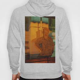 guard of light Statue Hoody