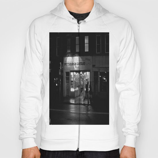 Walking By Guitars Hoody