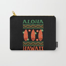 Summer Hawaii Island Aloha Hawaiian Carry-All Pouch