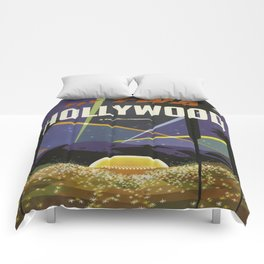 Vintage poster - Hollywood Comforters