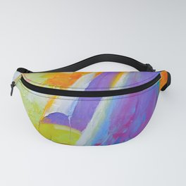 Sailboat in the sea Fanny Pack