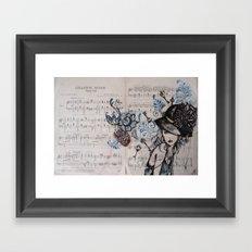 Chanson Russe Framed Art Print