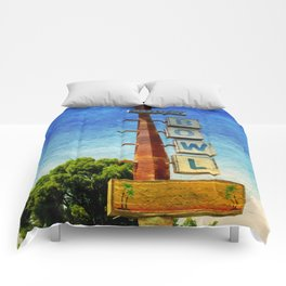 Century Bowl - Merced, CA Comforters
