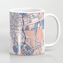 Milan - Italy Breezy City Map Coffee Mug