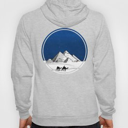 The pyramids of Giza Hoody