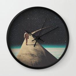 We Chose This Road My Dear Wall Clock