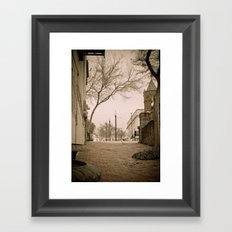 Vicksburg Downtown I Framed Art Print