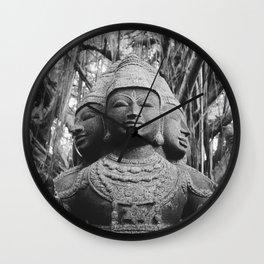 Shiva Statue - Kauai, Hawaii Wall Clock