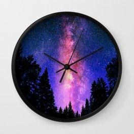 Mystical Night Wall Clock