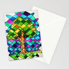 Tree Jumble Stationery Cards