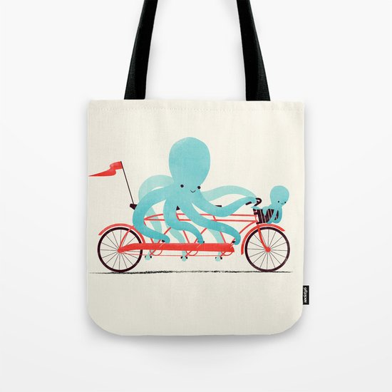My Red Bike Tote Bag