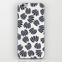 Abstract Floral V iPhone Skin