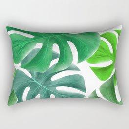 Tropical Greens Rectangular Pillow