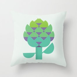 Vegetable: Artichoke Throw Pillow