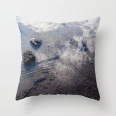 Sky Stones Throw Pillow