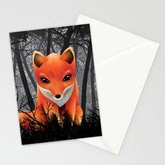 Vulpes Vulpes  at  Night Stationery Cards
