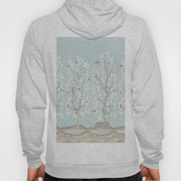 Citrus Grove Mural in Mist Hoody