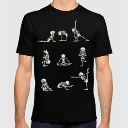 Skeleton Yoga T-shirt