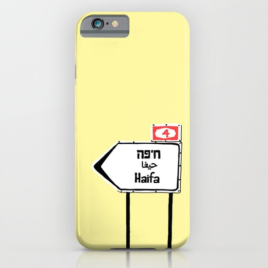 Haifa This Way iPhone & iPod Case
