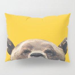 Bear - Yellow Pillow Sham