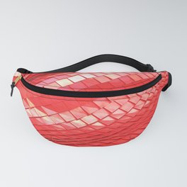 Red dragon skin Fanny Pack