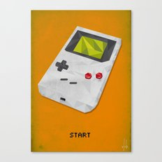 GameBoy Canvas Print