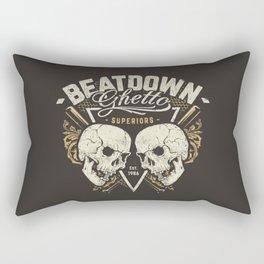 Beatdown Ghetto Rectangular Pillow