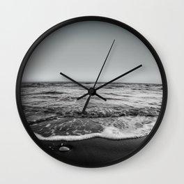 BEACH DAYS XXIII BW Wall Clock