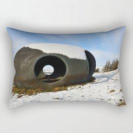 The Atom Panopticon Rectangular Pillow