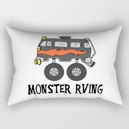 Monster RVing Rectangular Pillow