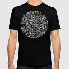 MEMENTO MORIARTY Black Mens Fitted Tee MEDIUM