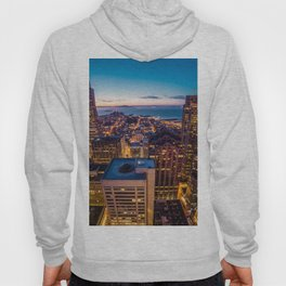 San Francisco Financial Disctrict Skyscrapers Hoody