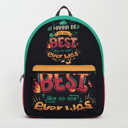 The Very Best // 90s Kids Cartoon Nostalgia, Anime, Motivational Backpack