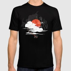 Uncharted Voyage Mens Fitted Tee Black LARGE