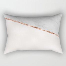 Park Avenue pearl marble Rectangular Pillow