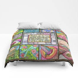 My Patchwork Friendship Squares Comforters