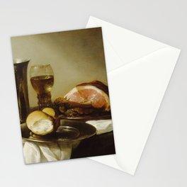 Pieter Claesz. - Breakfast Piece Stationery Cards