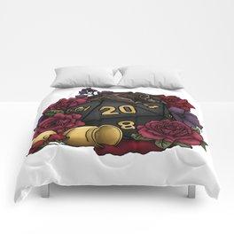 Vampire D20 Tabletop RPG Gaming Dice Comforters