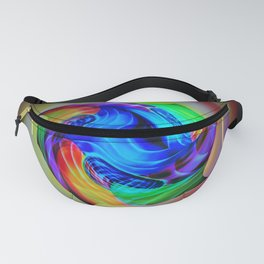 Abstract in perfection - Cube 5 Fanny Pack