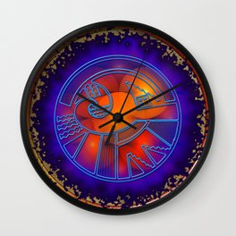 The Day of the Fire Wall Clock