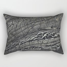 marble bk Rectangular Pillow
