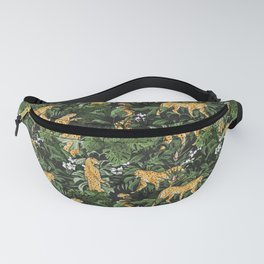 Cheetah in the wild jungle Fanny Pack