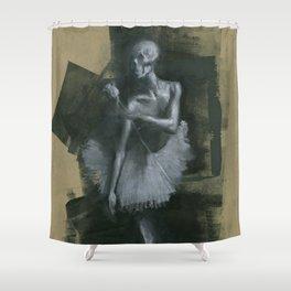 The Dark Dancer Shower Curtain