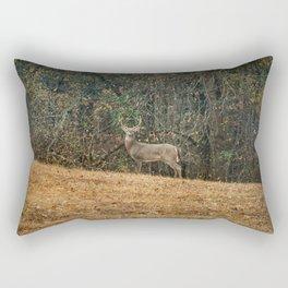 Buck At Pinson Mounds Rectangular Pillow